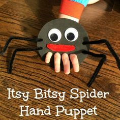 itsy bitsy spider hand puppet