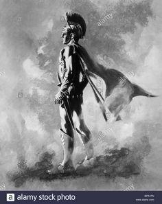 PORTRAIT OF ALEXANDER ALEXANDER THE GREAT (1956) Stock Photo