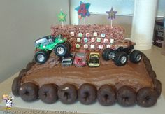Monster Truck Birthday Cake... Coolest Birthday Cake Ideas