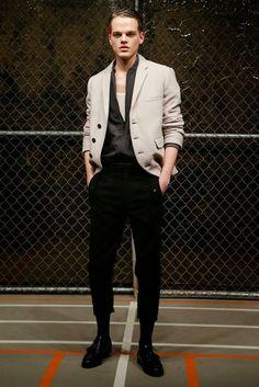 #Menswear #Trends  Robert Geller Fall  Winter 2015 Otoño Invierno #Tendencias #Moda Hombre    M.F.T.