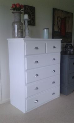White Pine drawers