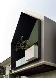 simple architecture - Google Search Architecture Design Concept, Architecture Résidentielle, Cultural Architecture, Facade Design, Townhouse Designs, Home Design, Design Ideas, Architectural Section, Facade House