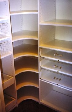 corner closet design ideas - Google Search