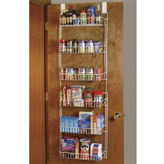 The Over The Door Storage Rack is a great hit with our customers.  Take a look at some of the great reviews for this item.