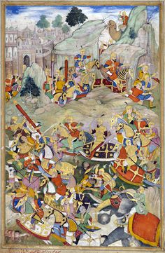 Humayun finally defeated his rebellious brother Kamran Mirza in Kabul in 1553