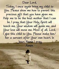 My prayer.