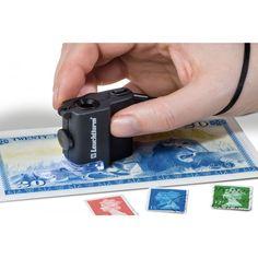 Tienda de Microscopios | Microscopio de bolsillo con LED, aumentos 15x