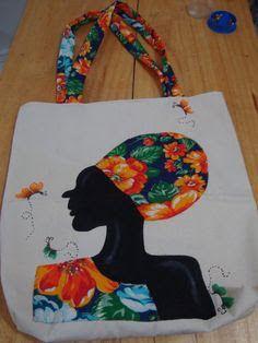 Resultado de imagem para Bordado em chita com pedraria African Art Paintings, Bag Patterns To Sew, Fabric Bags, Quilted Bag, Elementary Art, Fabric Painting, Handmade Bags, Fabric Crafts, Purses And Bags