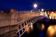 Halfpenny Bridge Ireland