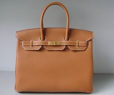 New In From Paris Brand Hermes Birkin 35cm Bag Gold Togo Leather With Rare Hardware Stamped P Special Price 15 500 00 Usd