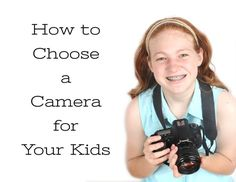 Searching for a camera for your little ones?  Check out these tips! http://shutterteachers.myshopify.com/blogs/blog/15145205-how-to-choose-a-camera-for-your-kids