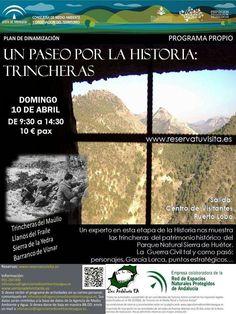 Un paseo por la historia y conocer las trincheras de la Sierra de Huétor. Pretendemos poner en valor el Parque Natural acompañados de un experto en historia que interpretará el patrimonio histórico y cultural de este espacio protegido.