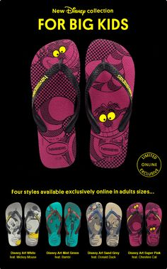 Havaianas Australia >> sent 4/18/13 >> Disney for BIG Kids! >> Great use of animated gifs from from Havaianas Australia! It was too cute not to share! -Lindsey O'Donnell, Design Consultant, ExactTarget Australia