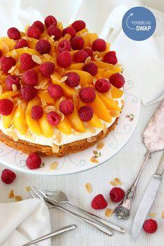Zoet & Verleidelijk: Pêche Melba taart