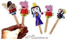 Popcicle stick crafts (Several different ones)