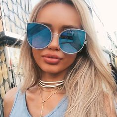 Get your favorite celebrity look.New Styles Added Often.Sale Up To Sunglasses, bags, clothes, jewelry, accessories. Sunglasses For Your Face Shape, Sun With Sunglasses, Reflective Sunglasses, Pink Sunglasses, Mirrored Sunglasses, Sunglasses Women, Sunnies, Mirrored Aviators, Summer Sunglasses