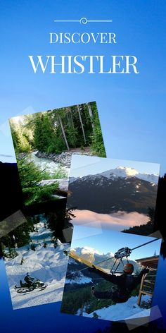 Freelance travel writer and photographer, Johanna Read, explores the myriad of ways to enjoy nature around Whistler in British Columbia, Canada. Discover Canada, British Columbia, Columbia Travel, Travel Videos, Whistler, Paris Travel, California Travel, Canada Travel, Travel Goals