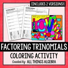 Factoring trinomials help please?