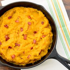 Skillet Buttercup Squash with Bacon | Magnolia Days