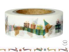 Masking Tape - Washi Tape HUNDE  - ein Designerstück von Fitzi-Floet bei DaWanda