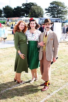 Friday at the Goodwood Revival by fleurdeguerre, via Flickr