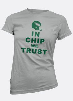 In Chip We Trust Womens Tee | Philadelphia Eagles Tee | Eagles Tee | Eagles T-Shirt | Chip Kelly Tee | In Chip We Trust | Ladies Tee | Girls