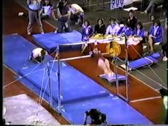 It features the Uneven Bars finals, individual competition at the 1983 NCAA Women's Gymnastic Cham. University Of Denver, University Of Southern California, Cal State, Arizona State, Lsu, Gymnastics, Special Events, Ohio, Competition