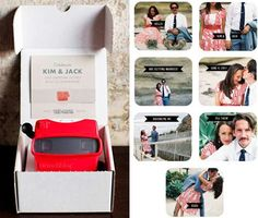 Retro Toy Invites - The Viewmaster Invitation is a Nostalgic Way to Invite Guests (GALLERY)