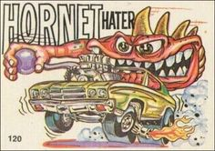 Odd Rods #120 Ed Roth Art, Car Pictures, Car Pics, Funny Rats, Cool Car Drawings, 1970 Chevelle, Cars Coloring Pages, Old School Cars, Rat Fink