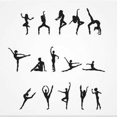 ideas for jazz dancing silhouette Silhouette Tattoos, Dance Silhouette, Ballerina Silhouette, Silhouette Photo, Silhouette Images, Dance Positions, Dance Quotes, Modern Dance, Dance Pictures