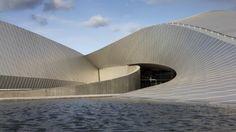 The Blue Planet aquarium Denmark.Architect Image by Adam Mørk Sustainable Architecture, Contemporary Architecture, Architecture Details, Architecture Board, Futuristic Architecture, Blue Planet Aquarium, Planet Pictures, The Blue Planet, Aquarium Design