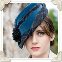 Katie Vale Designs: Medium & Large Hats - Couture Millinery, Handmade For You | Hats handmade by Katie Vale, UK