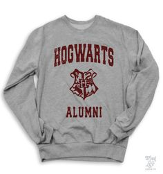 Hogwarts Alumni Sweater @DonnaSchieber62
