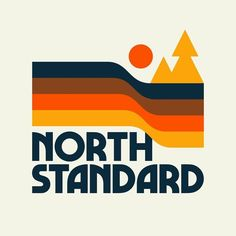 Weekly Inspiration Dose 081 - Indieground Design #graphicdesign #design #art #inspiration #logo #70s North Standard