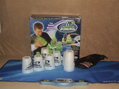 Speed Stacks Boxed Set Incl. 12 Competition Cups With Bag, Stack Mat, Timer