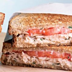 Turkey and Tomato Panini- EatingWell.com