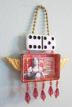 Matchbox Shrine | Gypsy shrine from matchbox (K. Batsel) | steampunk