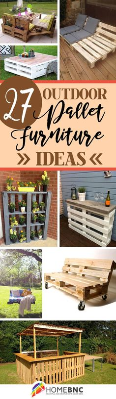 Welcome to Ideas of Outdoor Pallet Furniture Decorations article. In this post, you'll enjoy a picture of Outdoor Pallet Furniture Decorati. Outdoor Furniture Plans, Diy Pallet Furniture, Furniture Projects, Garden Furniture, Furniture Decor, Palette Furniture, Crate Furniture, Furniture Layout, Adirondack Furniture