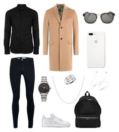 """Men's  polyvore"" by jesy-smith on Polyvore featuring Topman, Versus, Valentino, NIKE, Yves Saint Laurent, Christian Dior, Citizen, Pori, Blue Nile et men's fashion"