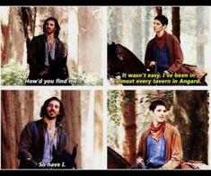 Merlin Show, Merlin Fandom, Merlin Cast, Gwaine Merlin, Emrys Merlin, Merlin Memes, Merlin Funny, Merlin Quotes, It's Over Now
