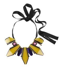 Marni Yellow Necklace, i want this sooo bad!!