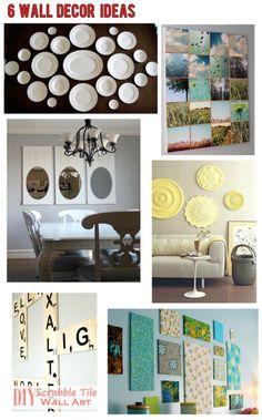 6 Wall Decor Ideas