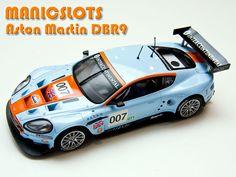 Slot Car, Scalextric, Aston Martin DBR9