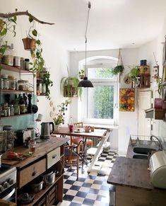 Küchen Design, House Design, Interior Design, Design Ideas, Cozy Kitchen, Kitchen Decor, Deco Boheme, Creation Deco, Modern Bathroom Design
