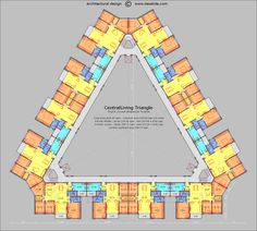 CentralLiving Triangle floor plan