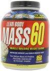 Labrada Nutrition Lean Body Mass 60 Muscle Builder Protein Powder, Vanilla Ice Cream, 6-Pounds Tub