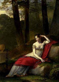 Regency Gown. Pierre-Paul Prud'hon: Portrait of the Empress Josephine, 1805.