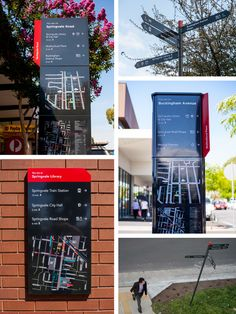 Springvale Activity Centre: Wayfinding Strategy and Signage - 2014 Melbourne Design Awards