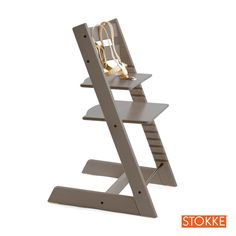 I like this...Stokke TRIPP TRAPP Highchair - Grey