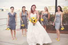 Gorgeous Sunflower Wedding by Iza's Flowers, Inc. Photography by Liz Byrd of Papered Heart Photography